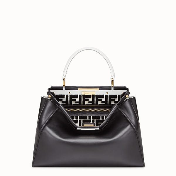 FENDI PEEKABOO REGULAR - Borsa in pelle multicolor - vista 1 thumbnail piccola