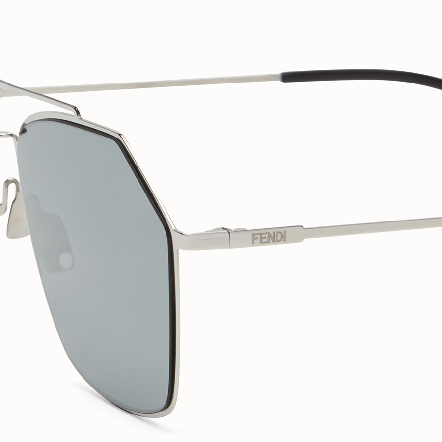 FENDI EYELINE - Ruthenium Asian fit sunglasses - view 3 detail
