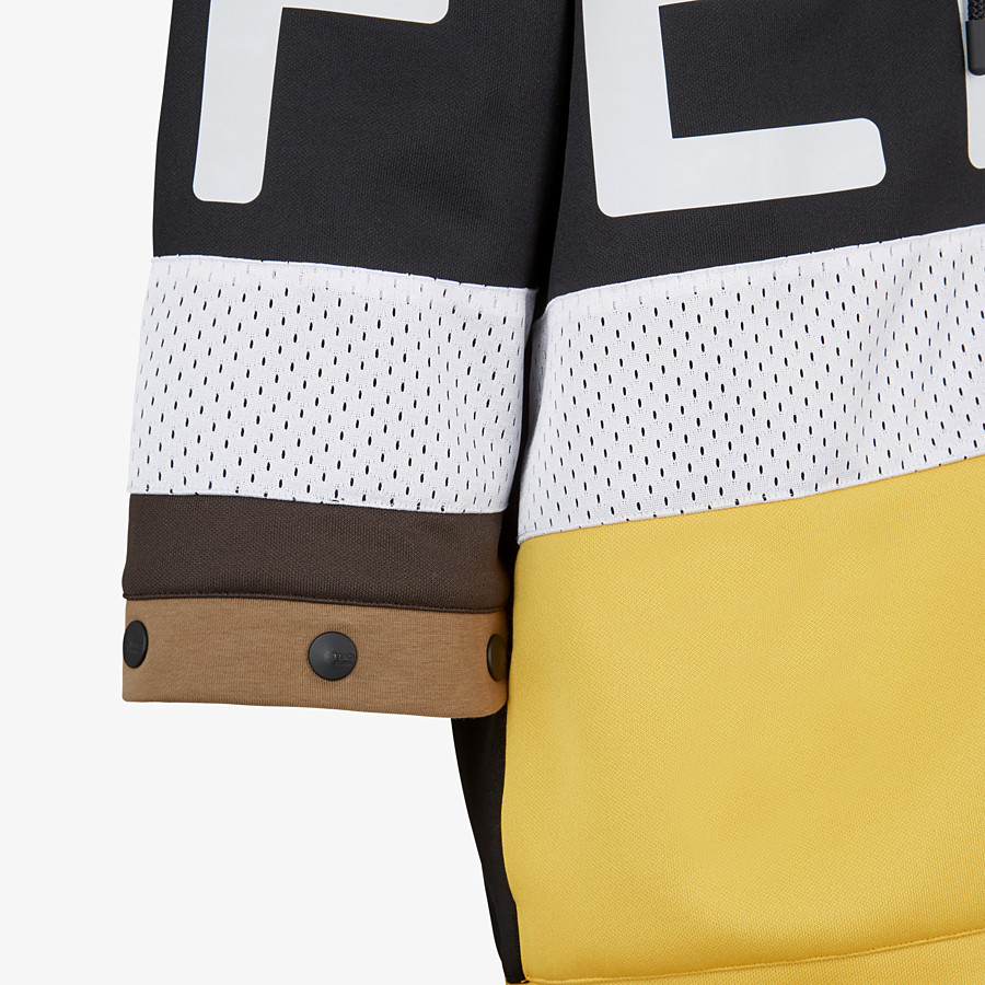 FENDI SWEATSHIRT - Multicolour acetate sweatshirt - view 3 detail