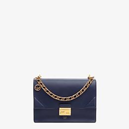 FENDI KAN U - Blue leather bag - view 1 thumbnail
