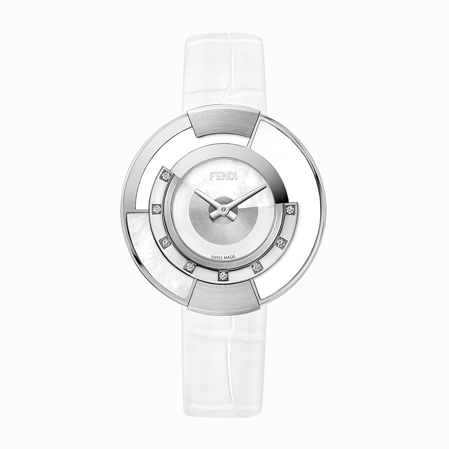 FENDI POLICROMIA - 38 mm - Watch with diamonds and mother-of-pearl - view 1 detail