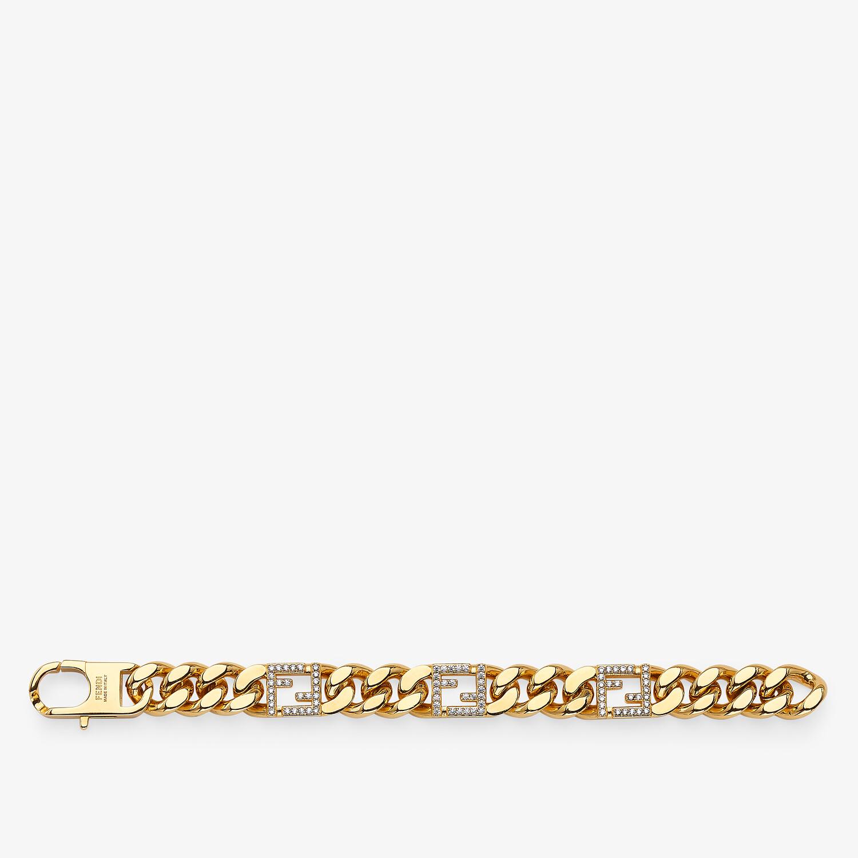 FENDI BAGUETTE BRACELET - Gold-colored bracelet - view 1 detail