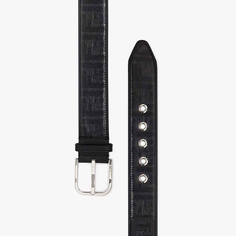 FENDI BELT - Black fabric belt - view 2 detail