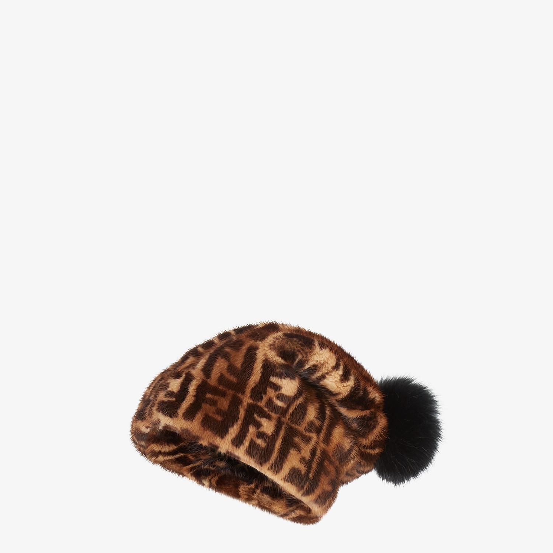 FENDI HAT - FF mink hat - view 1 detail