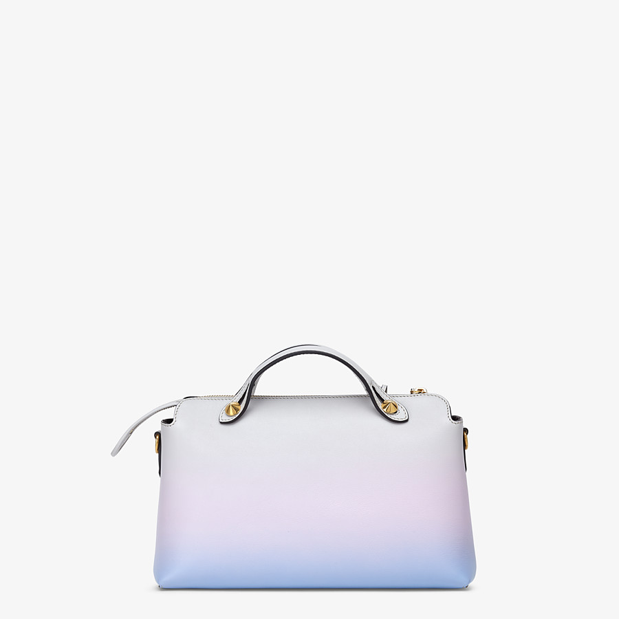 FENDI BY THE WAY MEDIUM - Leather Boston bag in graduated colours - view 4 detail