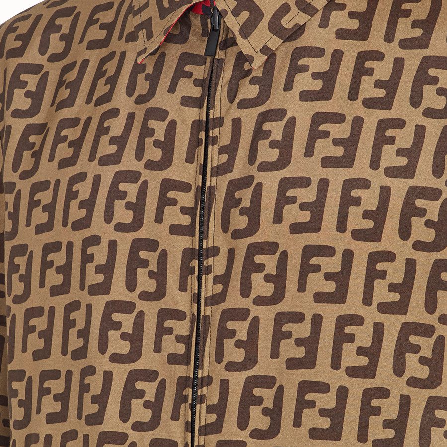 FENDI ブルゾン ジャケット - ブラックファブリック ジャケット - view 3 detail