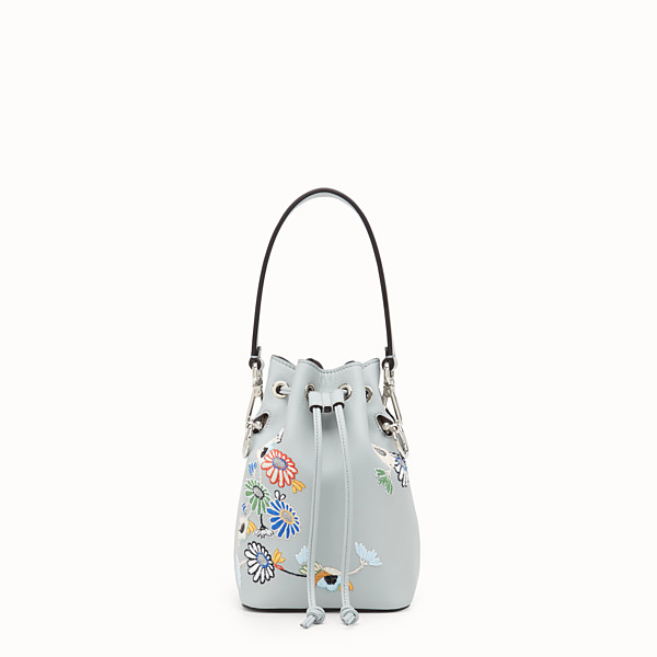 FENDI MON TRESOR - Mini sac en cuir gris - view 1 small thumbnail