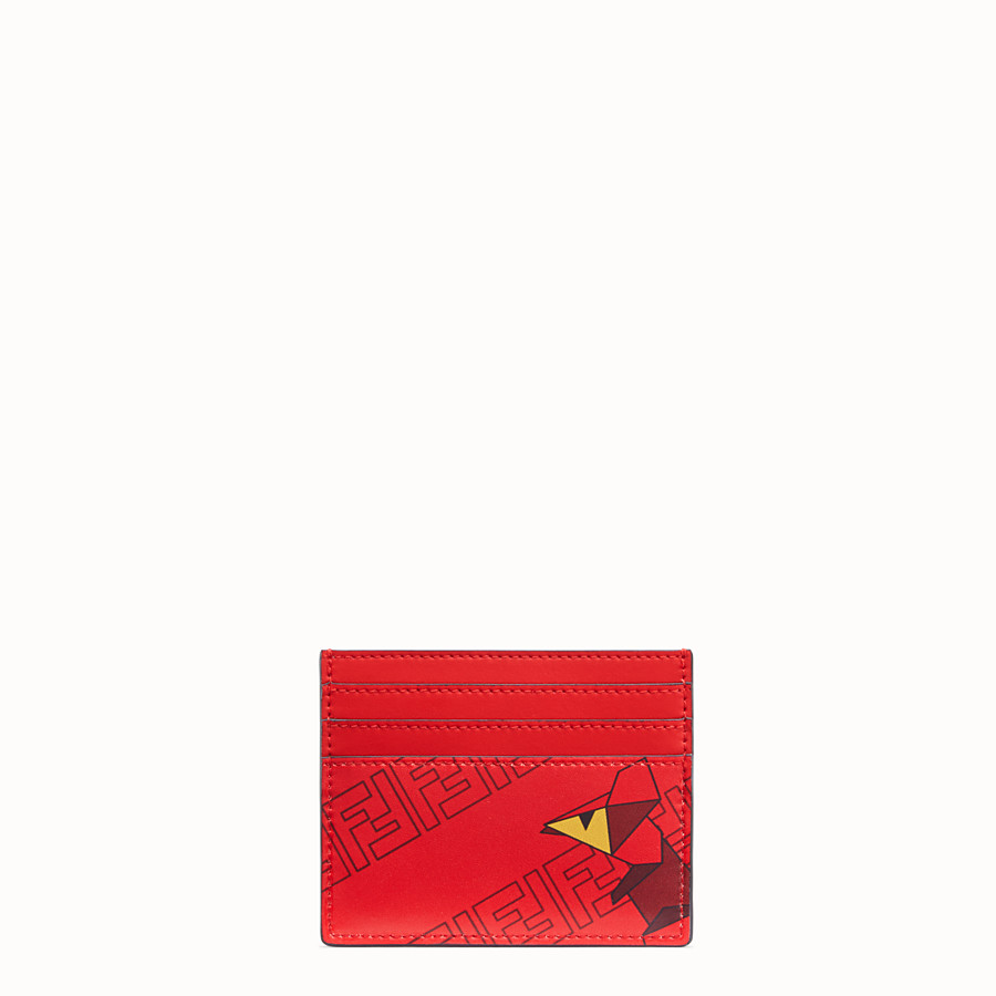 FENDI CARD HOLDER - Cardholder from the Chinese New Year Limited Capsule Collection - view 1 detail