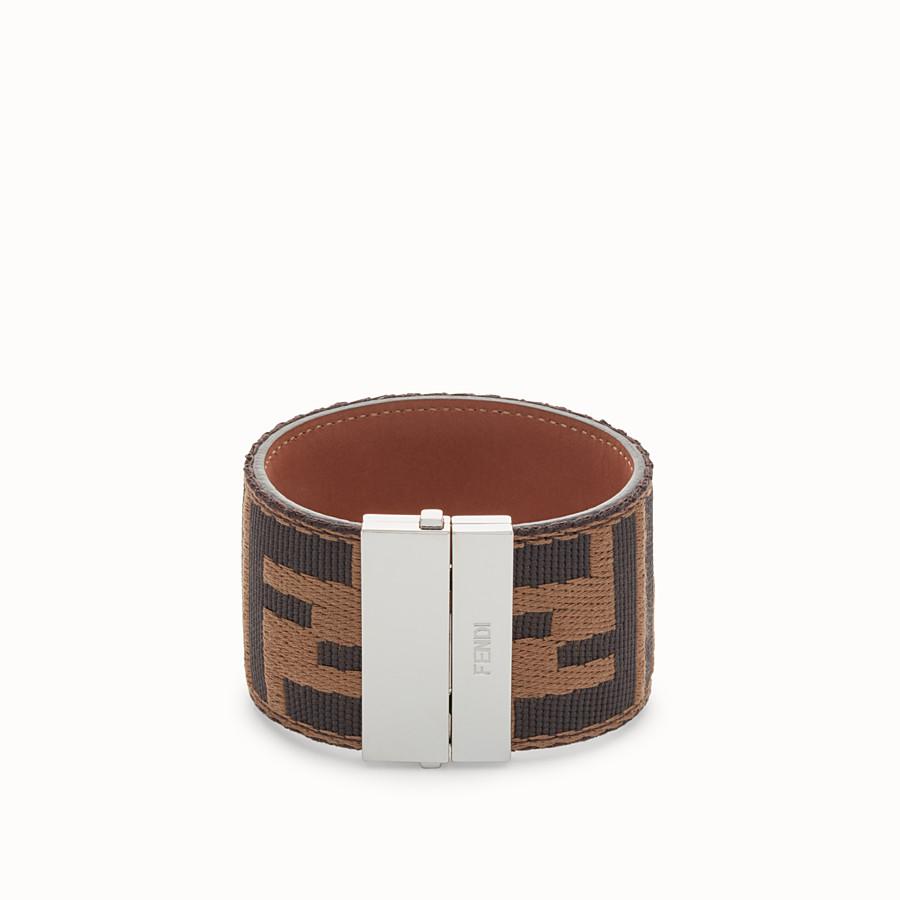 FENDI BRACELET - Brown bracelet - view 1 detail