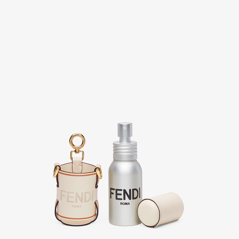 FENDI DISPENSER HOLDER - White leather dispenser holder - view 2 detail