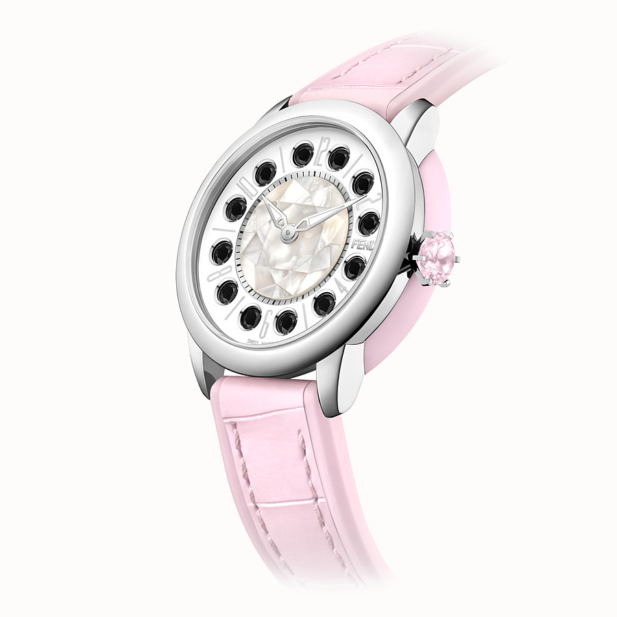 FENDI FENDI ISHINE - 38 mm - Watch with rotating gemstones - view 3 detail