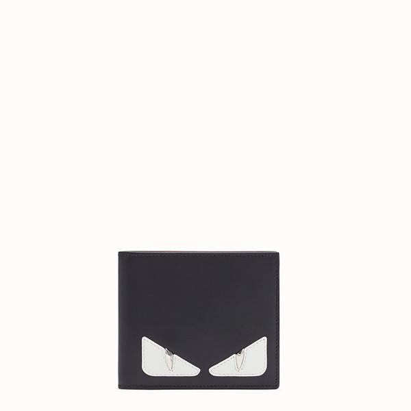 FENDI PORTEFEUILLE À DEUX VOLETS - Portefeuille à deux volets en cuir noir - view 1 small thumbnail