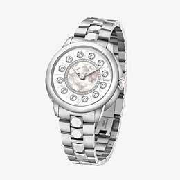 FENDI FENDI ISHINE - 38 MM - Watch with diamonds and rotating gemstones - view 2 thumbnail