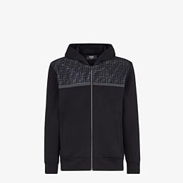 FENDI SWEATSHIRT - Sweatshirt aus Jersey in Schwarz - view 1 thumbnail