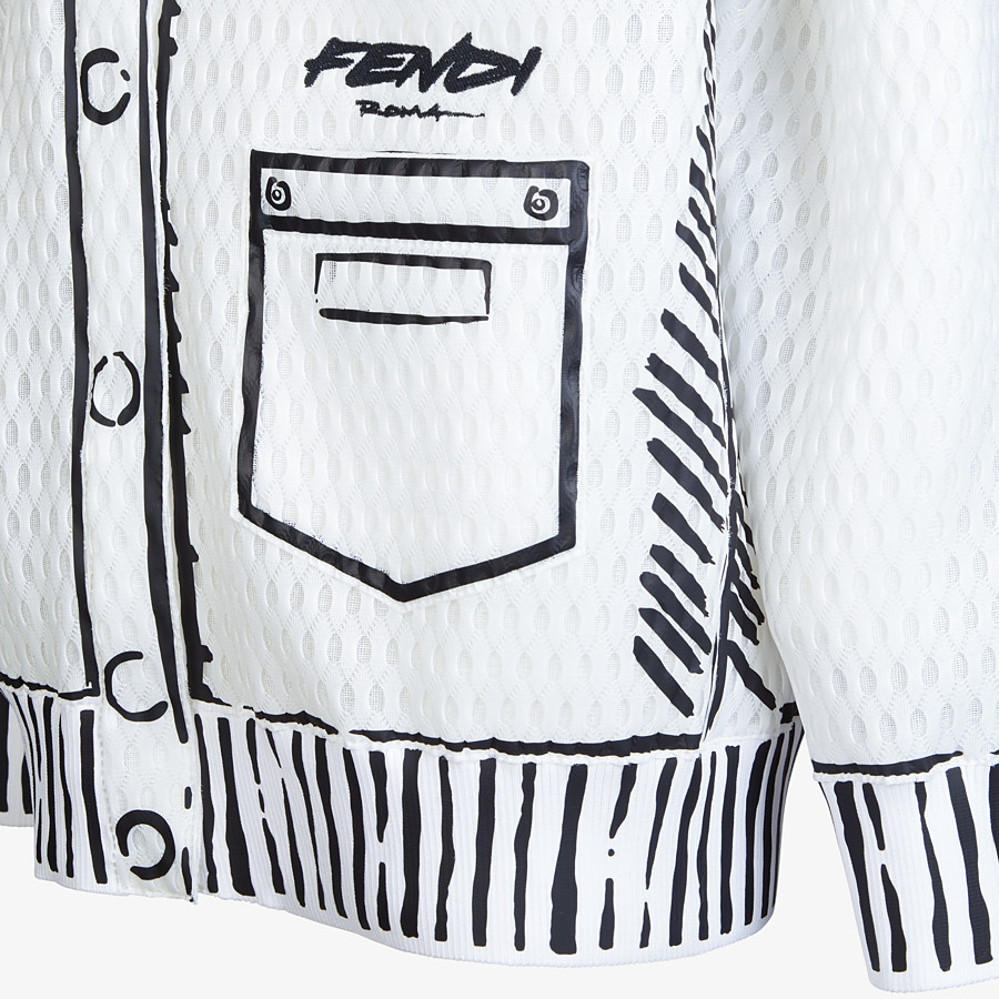 FENDI JACKET - Fendi Roma Joshua Vides quilted cardigan - view 3 detail