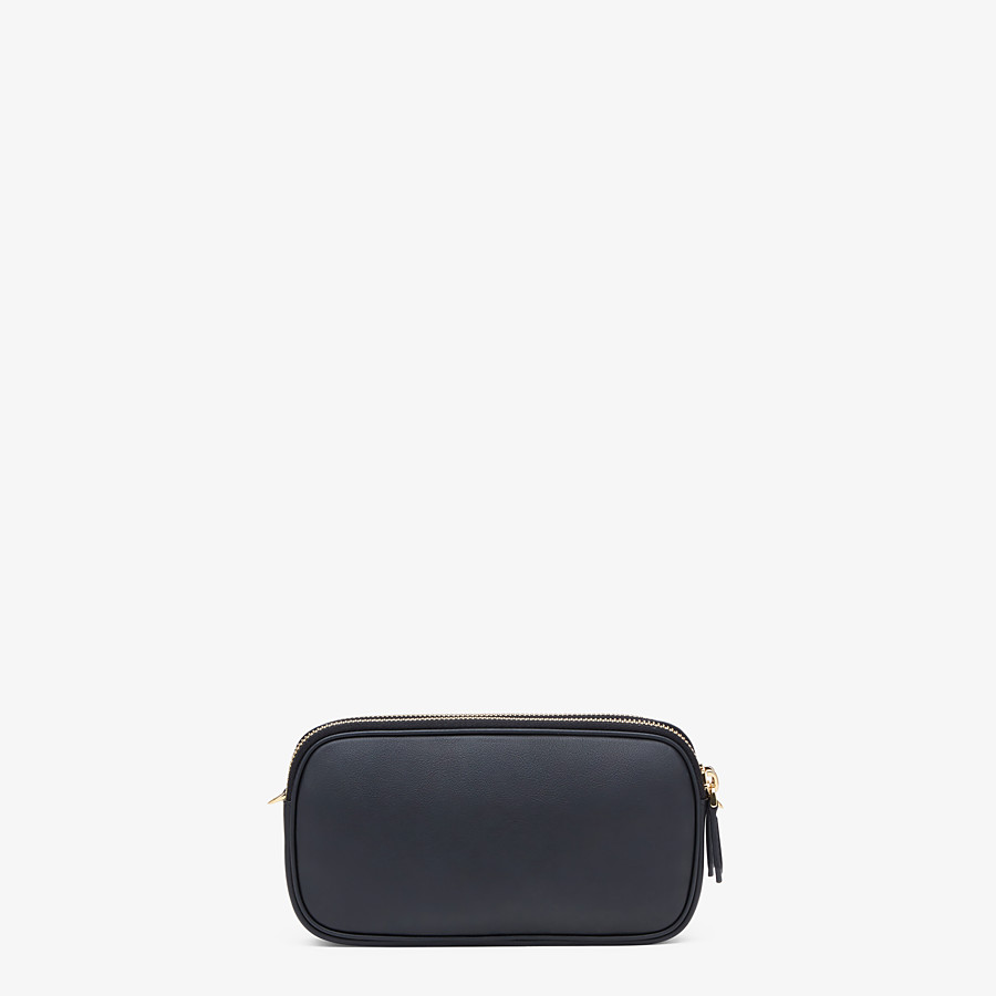 FENDI EASY 2 BAGUETTE - Black leather mini bag - view 4 detail