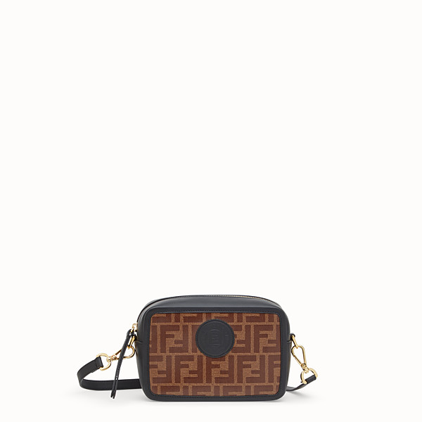 FENDI MINI CAMERA CASE - Multicolour canvas bag - view 1 small thumbnail