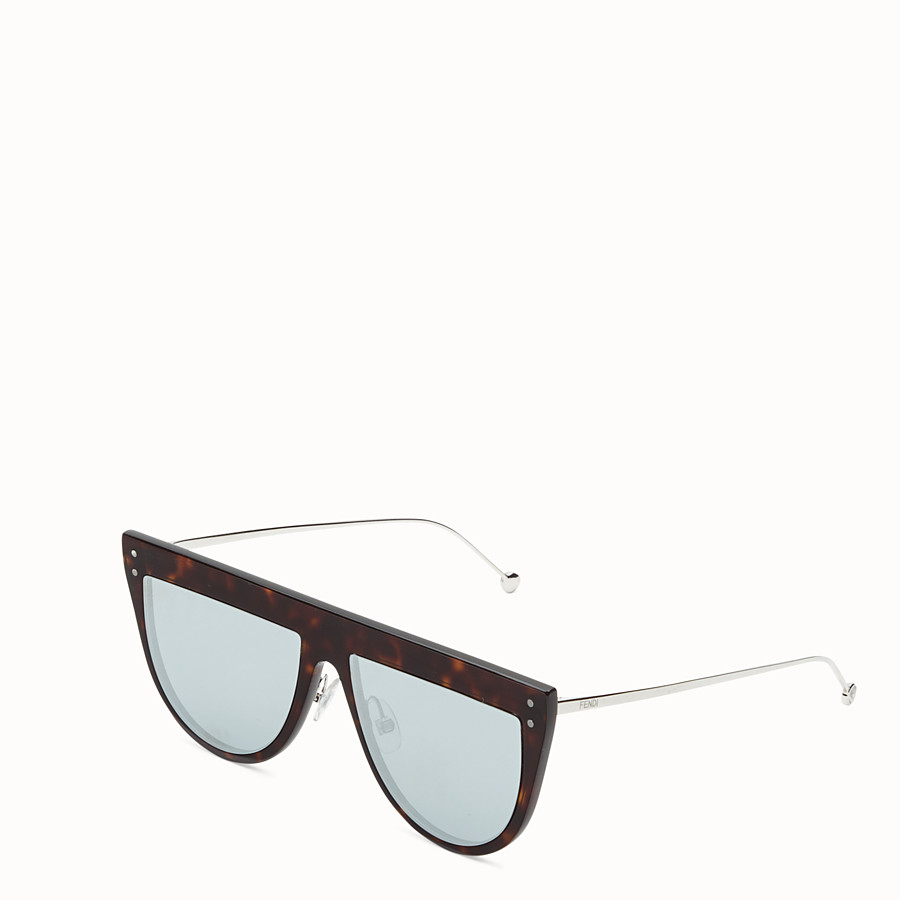 FENDI DEFENDER - Havana sunglasses - view 2 detail