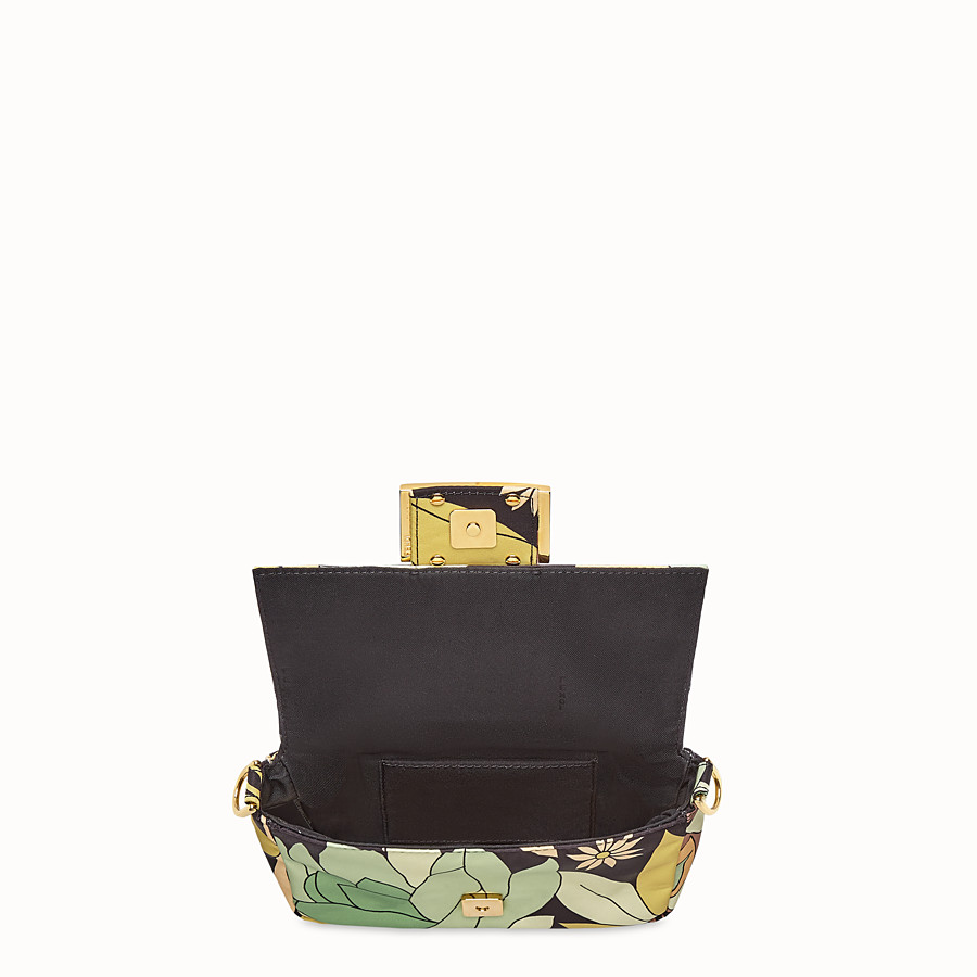 FENDI BAGUETTE - Green nylon bag - view 6 detail