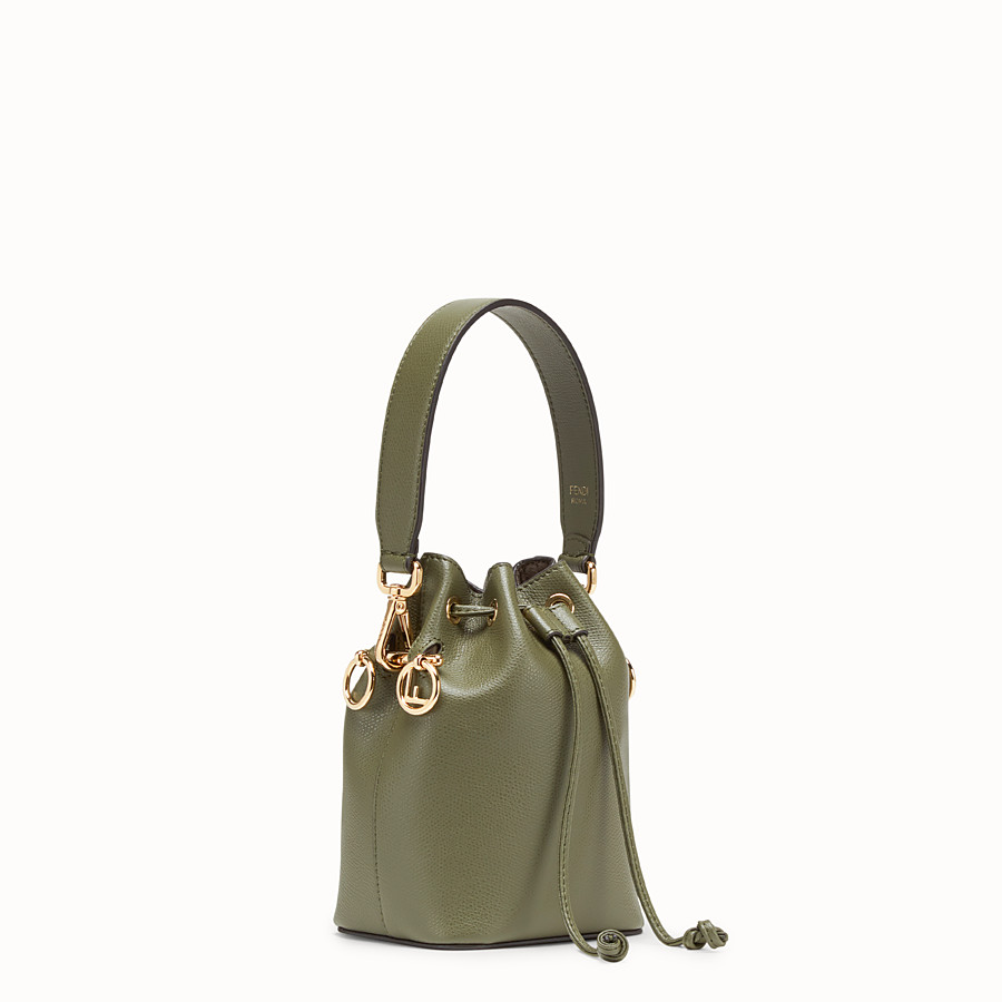 FENDI MON TRESOR - Green leather mini-bag - view 2 detail