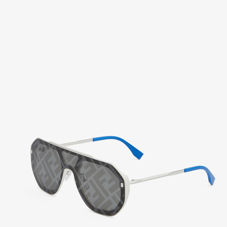 FENDI FF EVOLUTION - White sunglasses - view 2 detail