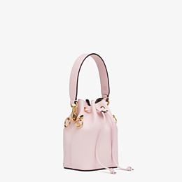 FENDI MON TRESOR - Pink leather mini-bag - view 3 thumbnail