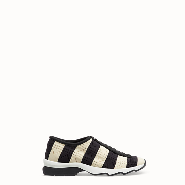 FENDI SNEAKERS - Sneakers en tissu bicolore - view 1 small thumbnail