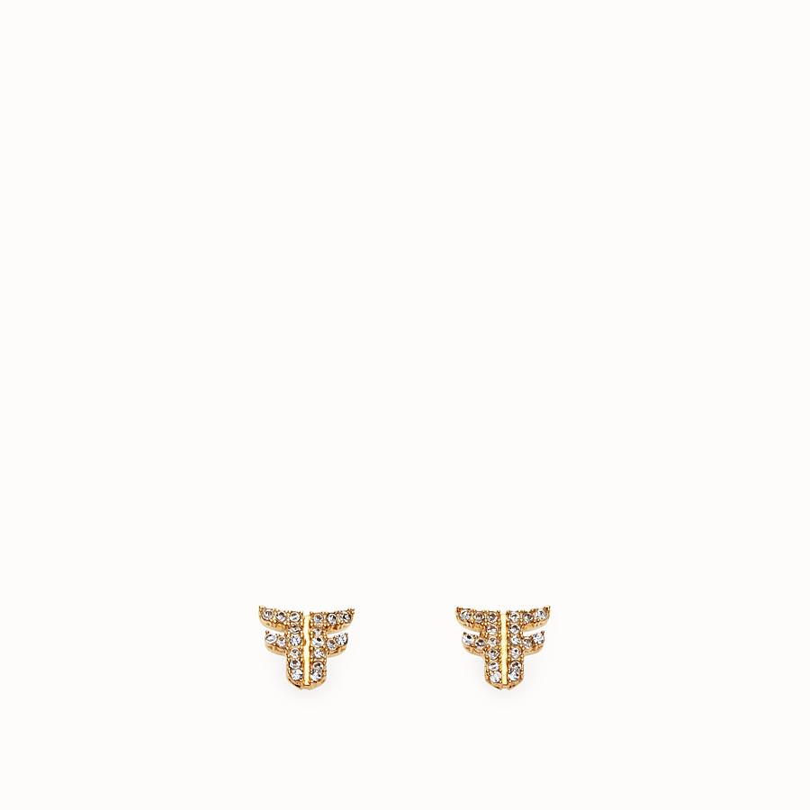 FENDI FFREEDOM OHRRINGE - Ohrringe Goldfarben - view 1 detail