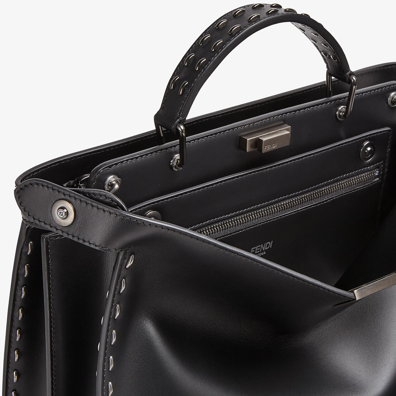 FENDI PEEKABOO ISEEU MEDIUM - Black leather bag - view 6 detail