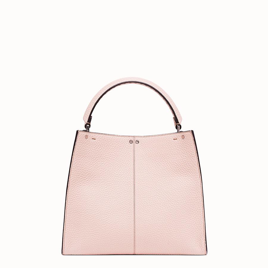 FENDI PEEKABOO X-LITE MEDIUM - Pink leather bag - view 4 detail