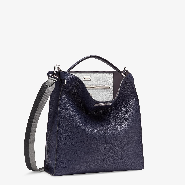 FENDI PEEKABOO X-LITE FIT - Blue Romano leather bag - view 3 detail