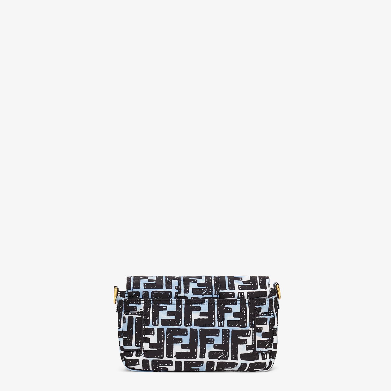 FENDI BELT BAGUETTE SMALL - Nylon FF print bag - view 5 detail