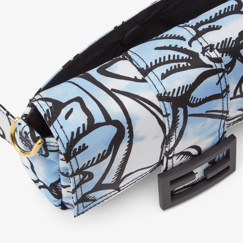 FENDI BAGUETTE - Tasche Fendi Roma Joshua Vides aus Nylon - view 5 detail
