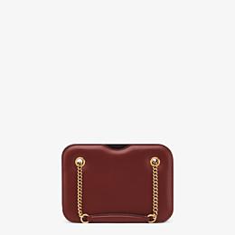 FENDI KARLIGRAPHY POCKET - Brown leather bag - view 4 thumbnail