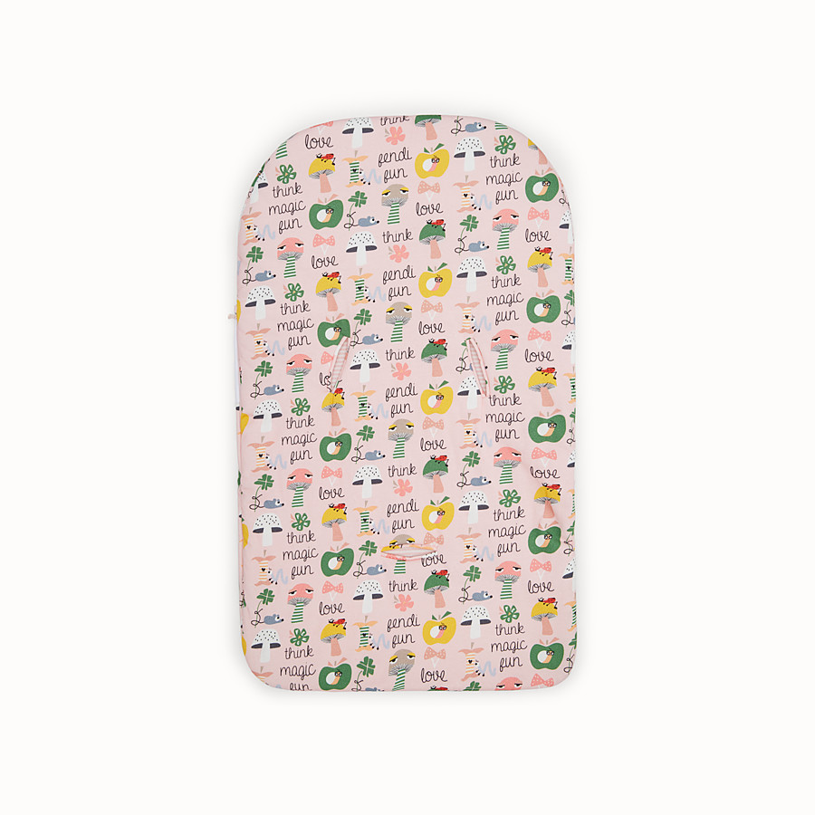 FENDI BUNX SLEEPING BAG - White, pink and multicolour jersey sleeping bag - view 2 detail