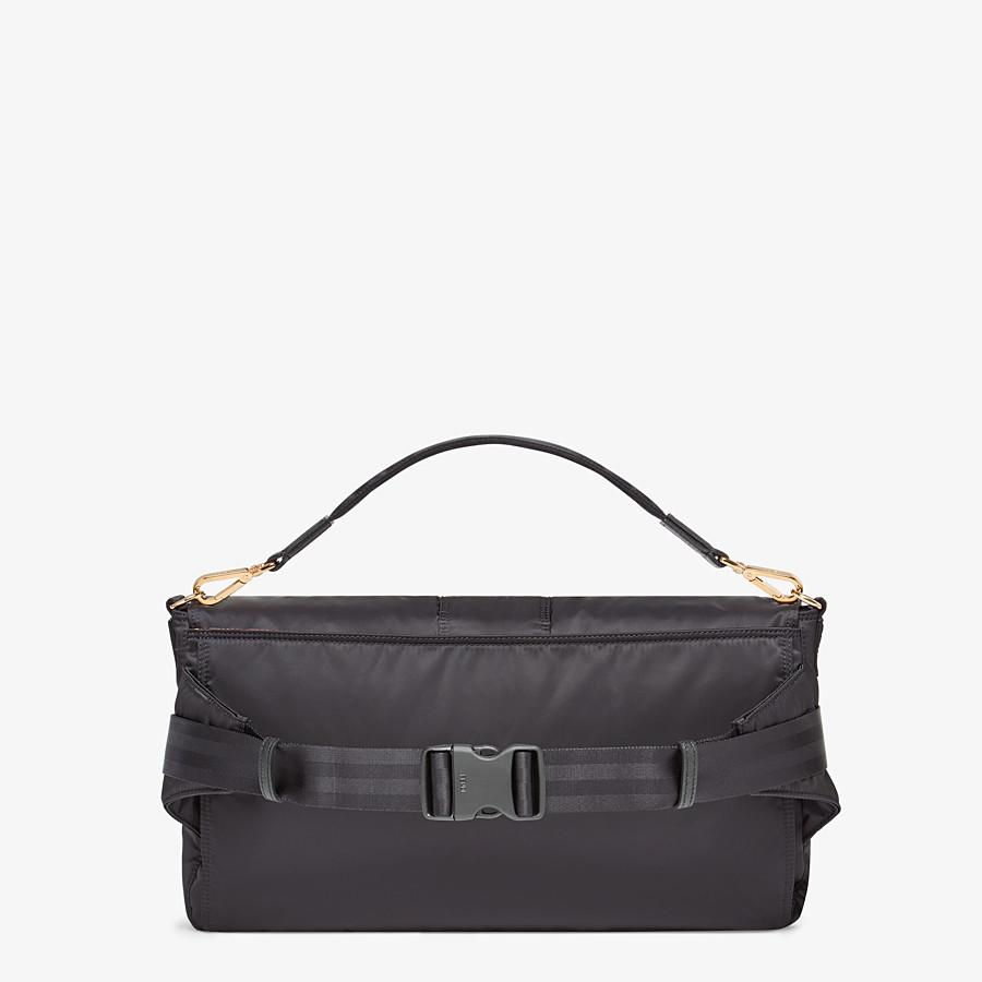 FENDI BAGUETTE FENDI AND PORTER - Black nylon bag - view 3 detail