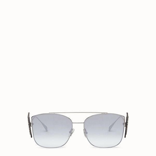 FENDI FFREEDOM - Silver-colored sunglasses - view 1 small thumbnail