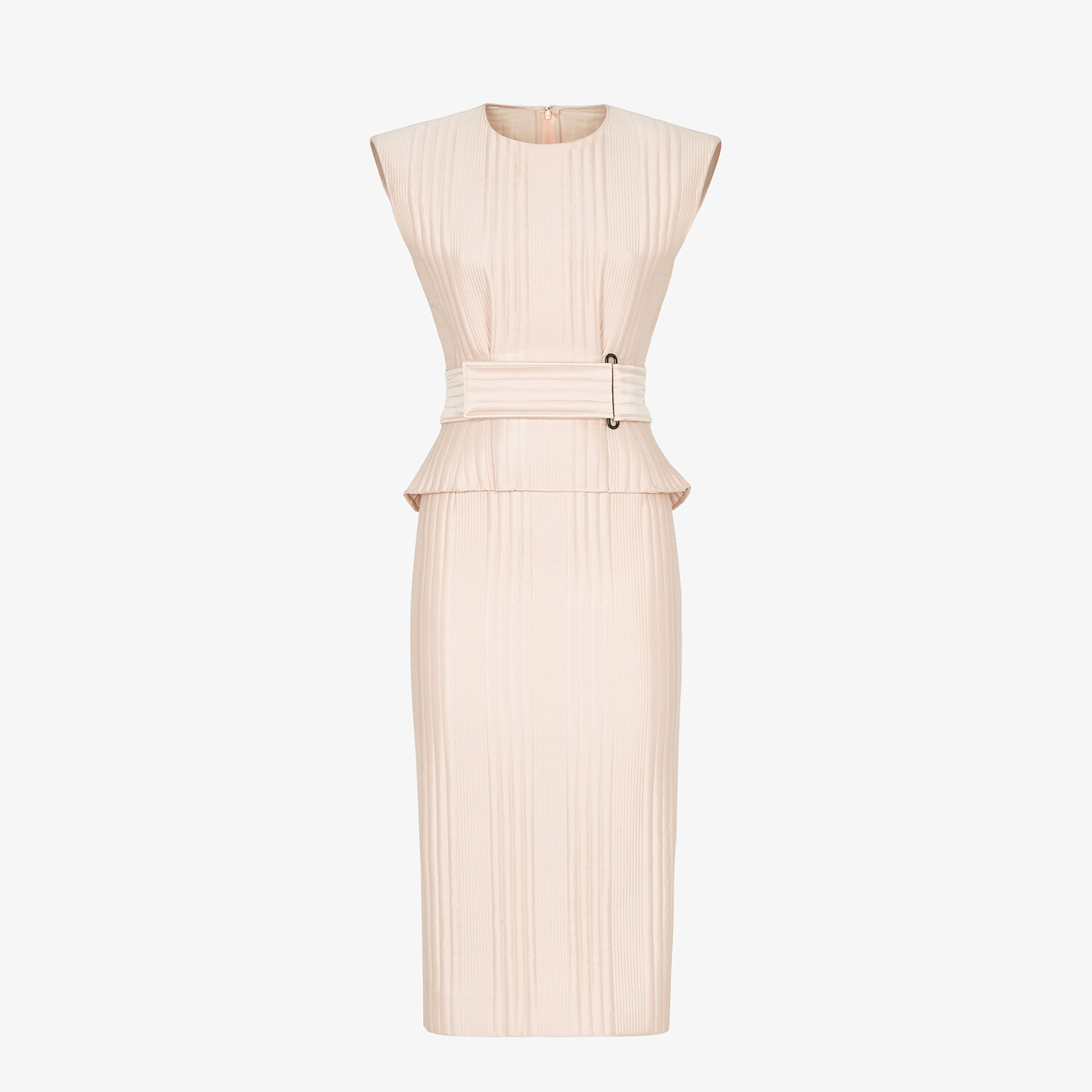 FENDI DRESS - Pink satin dress - view 1 detail