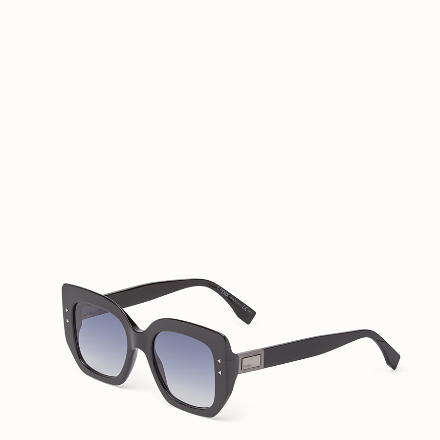 FENDI PEEKABOO - Black sunglasses - view 2 detail