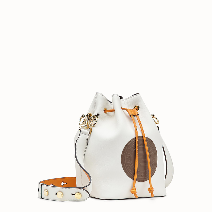 FENDI MON TRESOR - White leather bag - view 2 detail