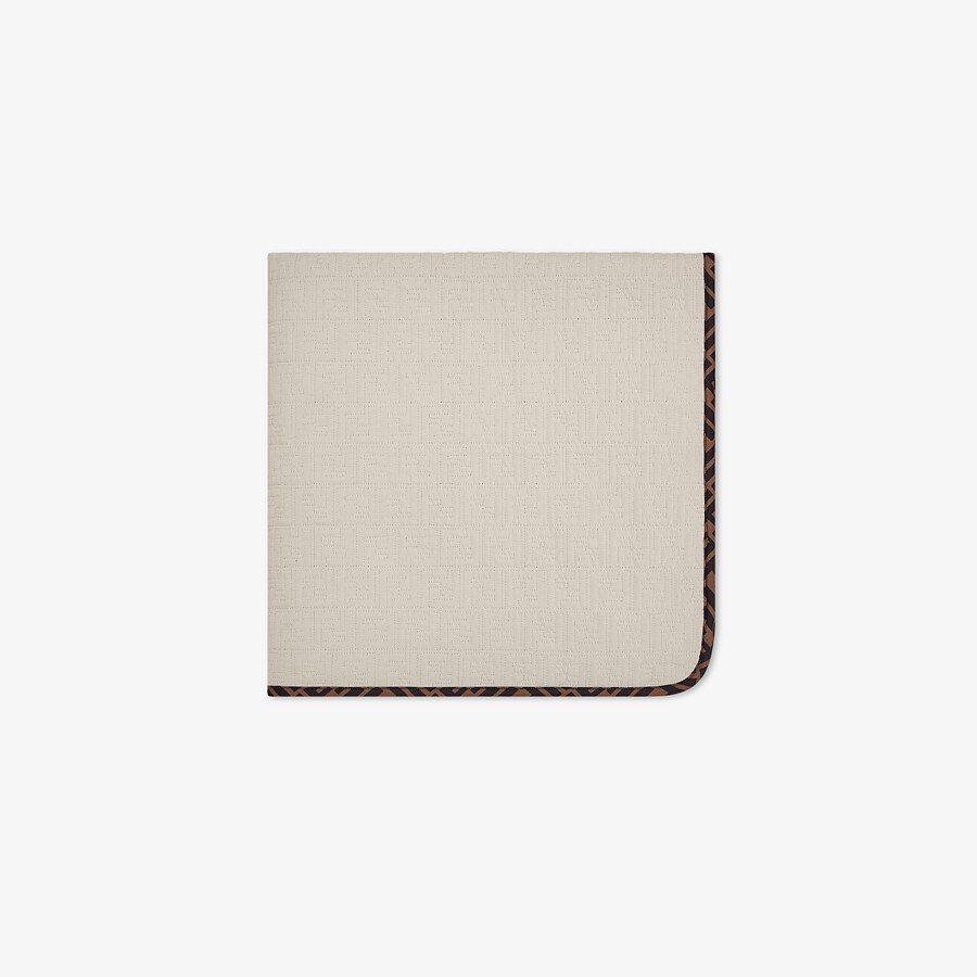 FENDI BABY BLANKET - Quilted cotton baby blanket - view 1 detail