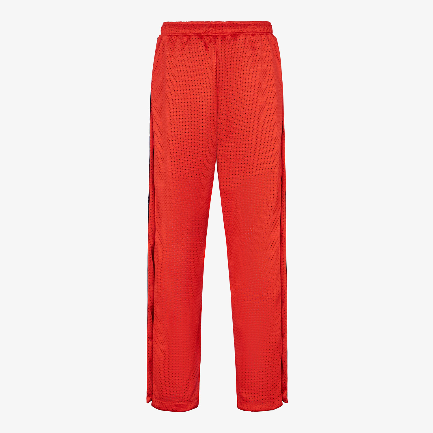 FENDI PANTS - Red tech mesh pants - view 2 detail