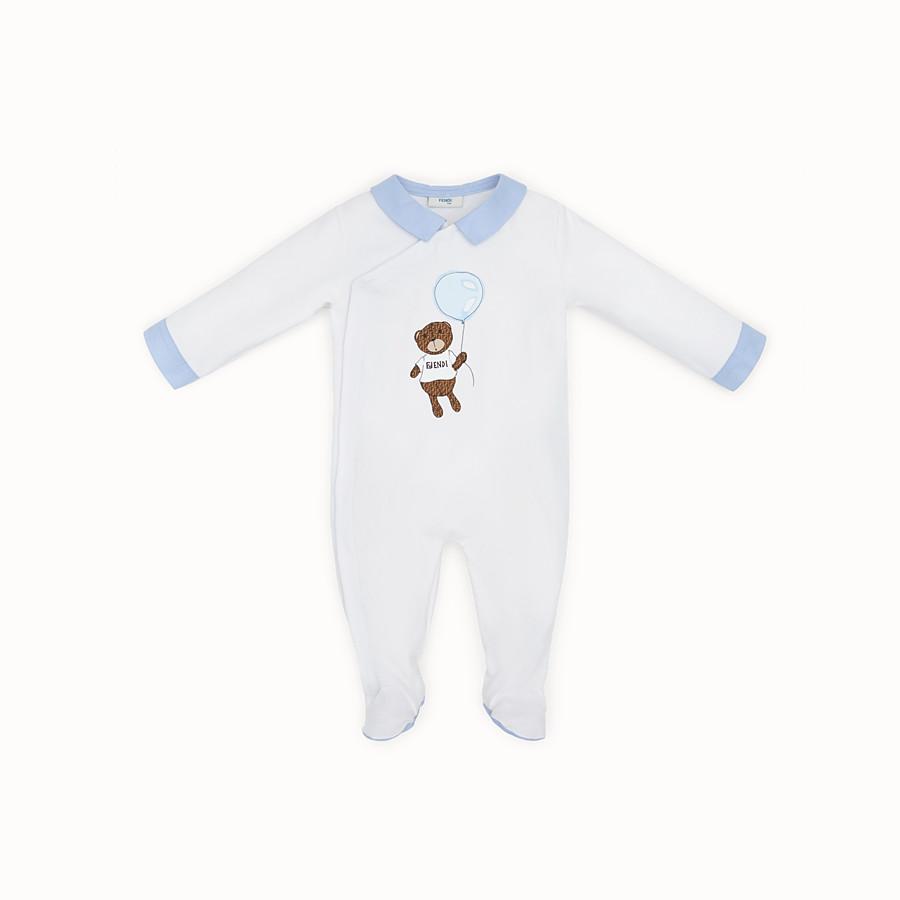 FENDI TUTINA BABY - Tutina in jersey con stampa - vista 1 dettaglio