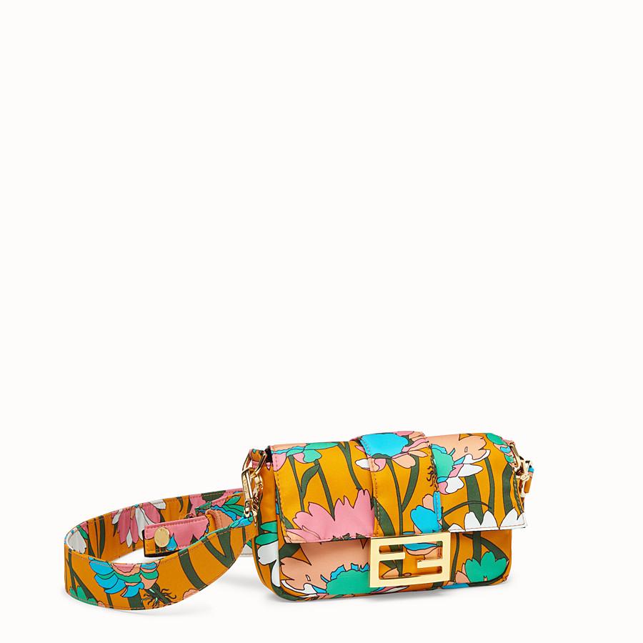 FENDI BAGUETTE - Orange nylon bag - view 3 detail