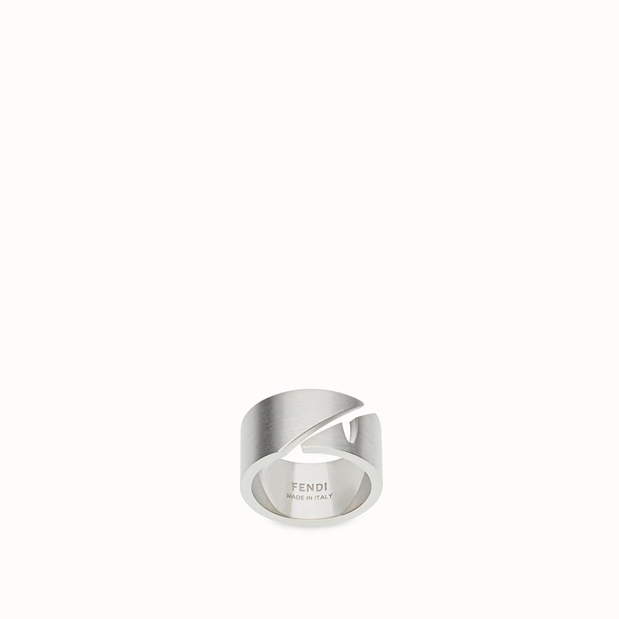 FENDI RING - Ring Silberfarben - view 1 detail