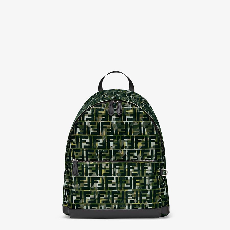 FENDI BACKPACK - Multicolour nylon backpack - view 1 detail