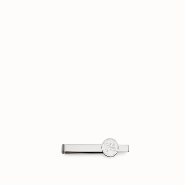 FENDI  - Palladium metal tie clip - view 1 small thumbnail