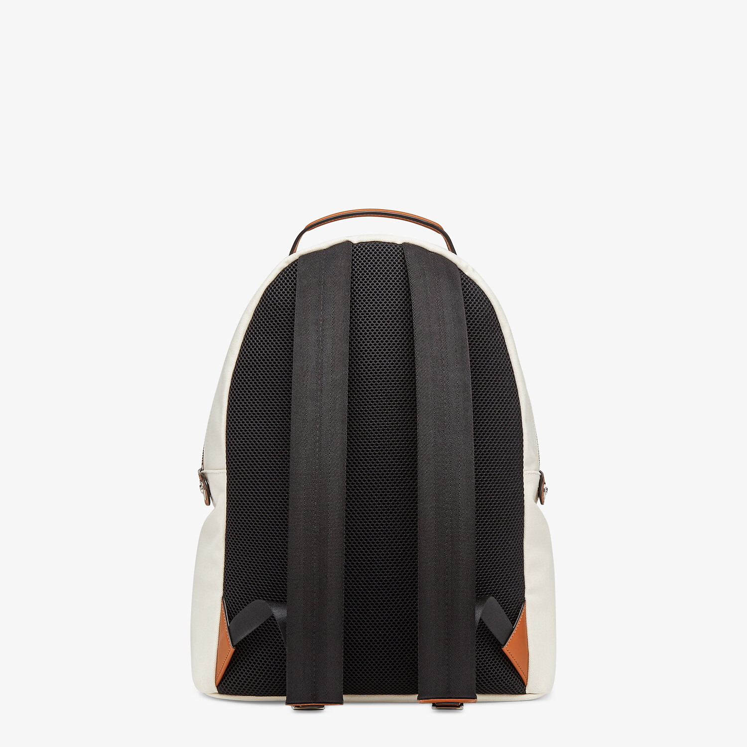 FENDI ESSENTIAL BACKPACK - Undyed canvas backpack - view 4 detail