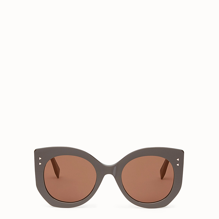 FENDI PEEKABOO - Brown sunglasses - view 1 detail