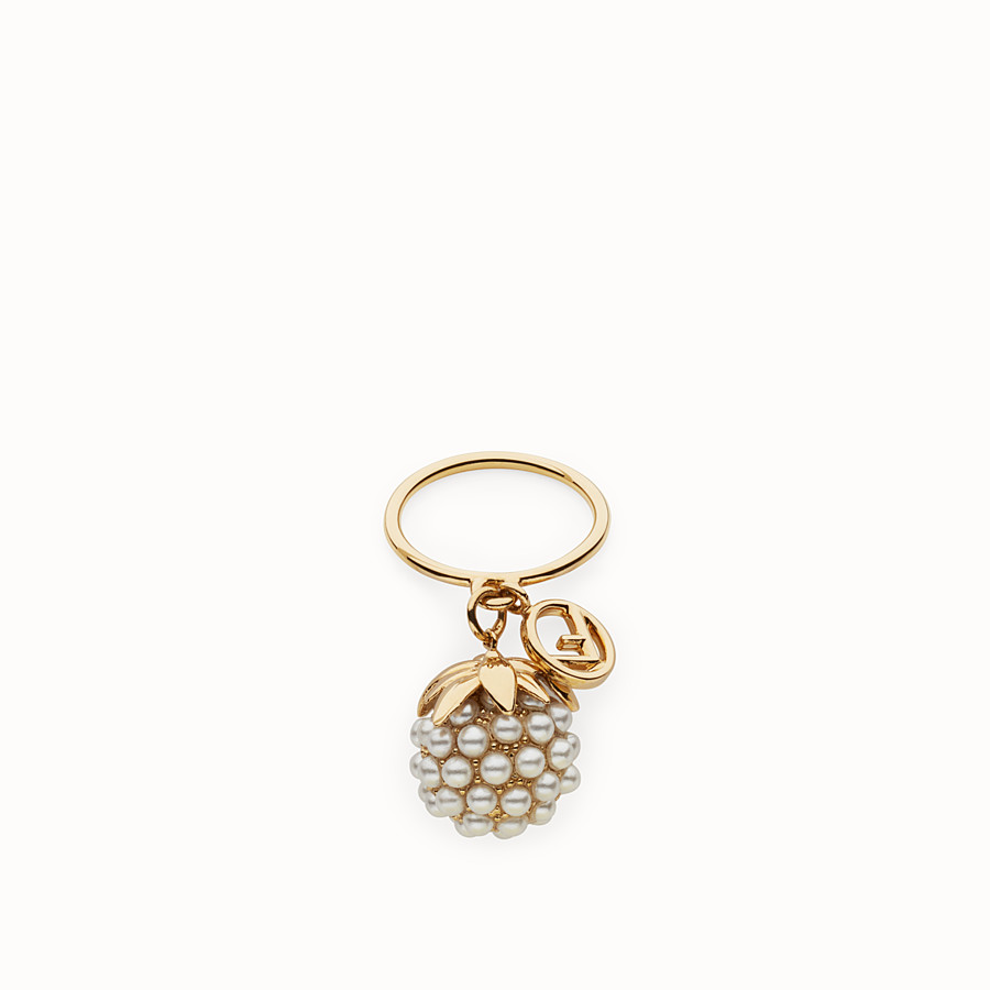 FENDI FENDI FRUIT RING - Gold colour ring - view 1 detail